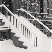 NYC Snow Stairs