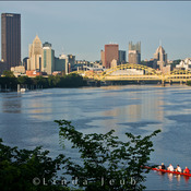 Downtown Pittsburgh Rowers